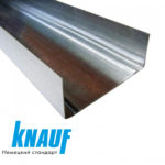 Профиль перегородочный Knauf CW 100 3 м 0,60 мм