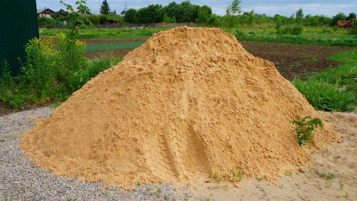 Песок строительный купить в Днепре