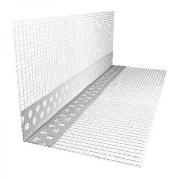 Уголок арочный пластиковый с сеткой 3 м купить в Днепре